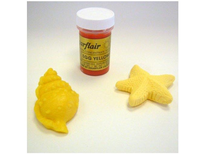 Barva Sugarflair - Egg Yellow 25g