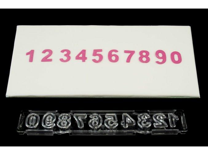 Číslice Windsor Craft - klasická