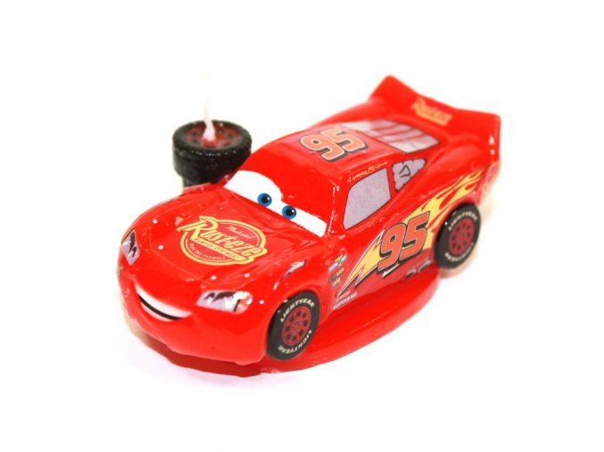 Dortová svíčka 3D - Cars