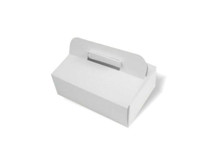 Výslužková krabice bílá - 5 ks