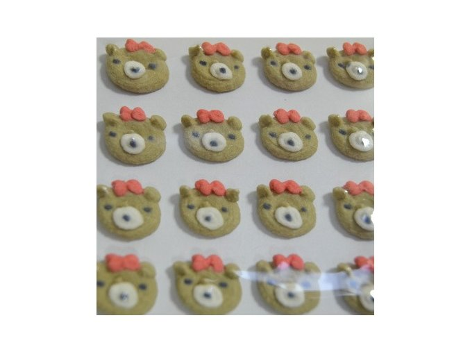 Cukrové ozdoby Timidekor - medvídek
