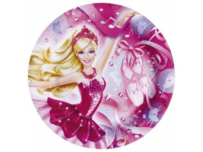 Party talíře 8 ks - Barbie