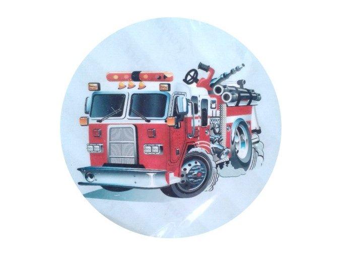 Jedlý papír C - hasičské auto