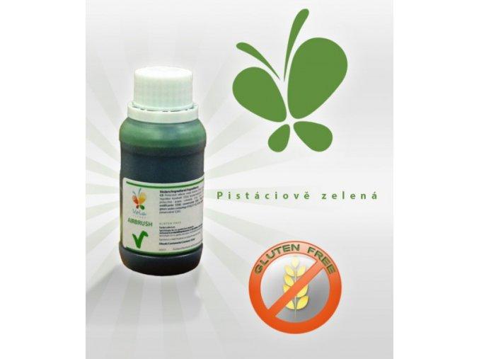 Airbrush jedlá barva 45ml - pistáciově zelená