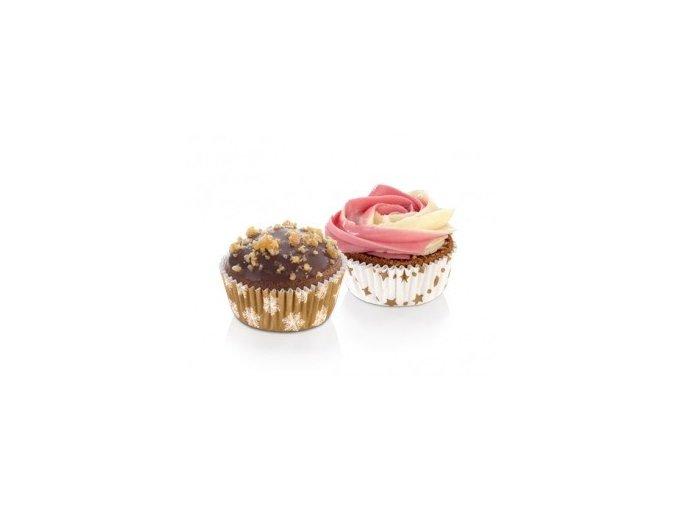 Cukrářské mini košíčky DELÍCIA - zimní