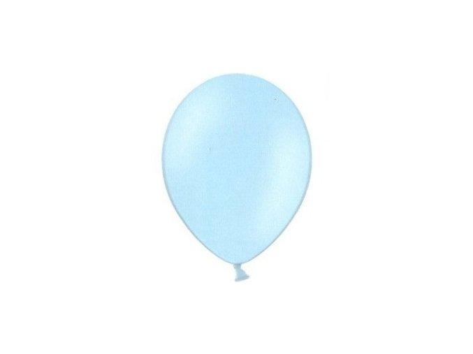 Balónky 5 ks pastelové - světle modré