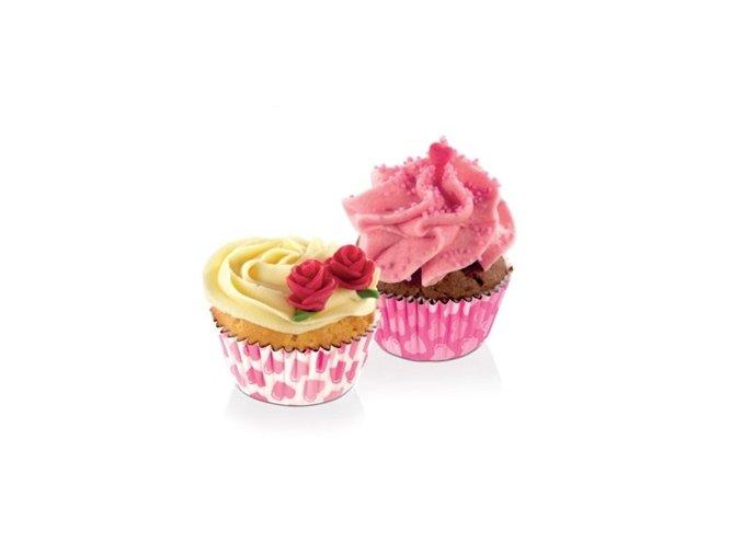 Cukrářské mini košíčky DELÍCIA - srdíčka