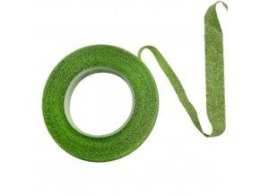 Floristická páska PME - třpytivá - zelená
