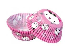 Košíčky na muffiny 50 ks - 35057 s kočičkou