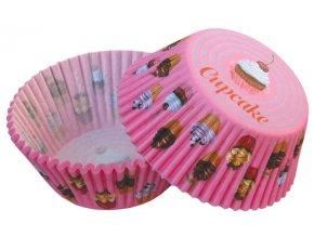 Košíčky na muffiny 50 ks - 35154