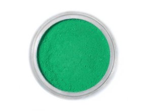 Jedlá prachová barva Fractal - Ivy Green, Borostyán zöld (1,5 g)