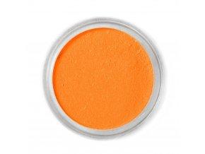 Jedlá prachová barva Fractal - Mandarin (1,7 g)