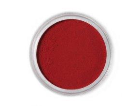 Jedlá prachová barva Fractal - Rust Red, Rozsdavörös (1,5 g)