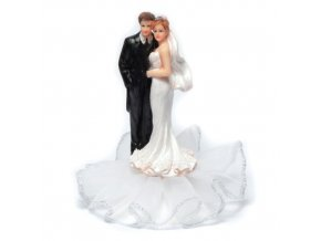 Svatební figurka na podstavci - 8136