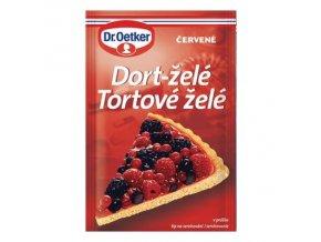 dort želé červené