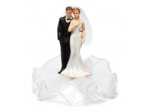 Svatební figurka na podstavci - 8140