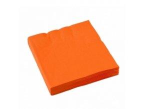 ubrousky oranž