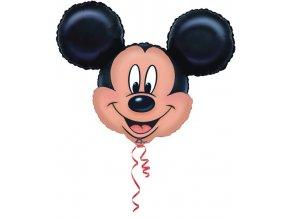 Foliový balónek velký - hlava Mickey Mouse