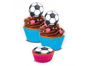 Jedlé obrázky 16 ks - Fotbalový míč