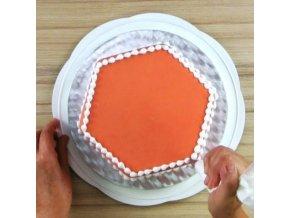 Otočný tác  na dort - ke zdobení i servírování - PME