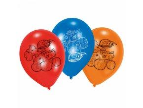 Balónky 6 ks - auta Blaze