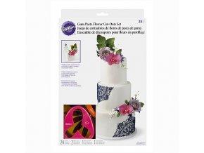 Sada na modelování květů Wilton Flower Set