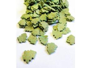 Cukrové zdobení v balení 1 kg - stromečky