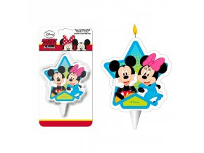 display 12 velas 2d mickey minnie
