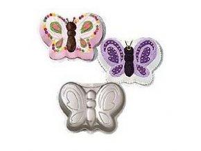 Dortová forma motýl