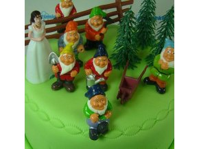 Sada na zdobení dortu SNĚHURKA