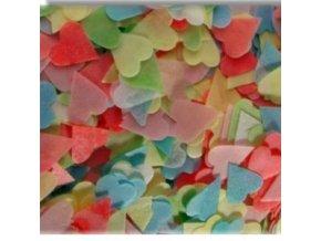 Konfety z jedlého papíru SRDÍČKA 10 g