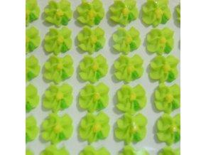 Cukrové ozdoby Timidekor - kytičky zelené