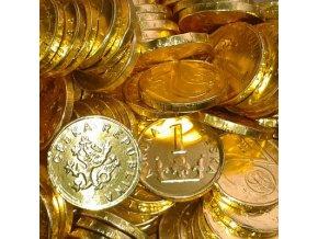Čokoládové mince - 20 ks