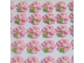 Cukrové ozdoby Timidekor - kytičky růžové