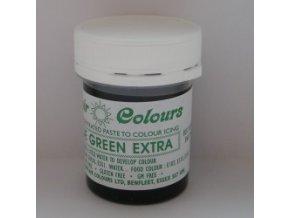 Barva Sugarflair - Green extra 42g