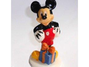 Dortová svíčka 3D - Mickey Mouse