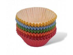 Košíčky 25x18mm - 200 ks - barevné