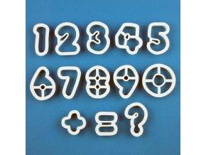 Sada PME plastová - číslice