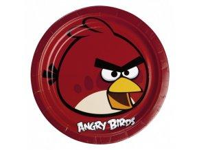 Party talíře 8 ks - Angry Birds