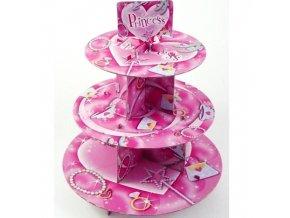 Stojan na muffiny - Princess
