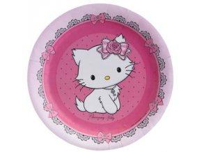 Party talíře 8 ks - Charmmy Kitty