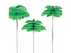 Párty dekorace palmička 12 ks