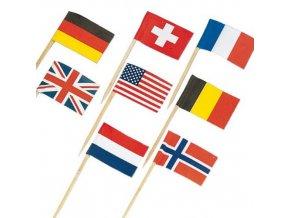 Párty vlaječky 30 ks