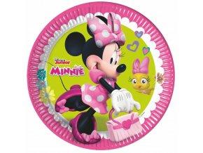 Party talíře 8 ks - Minnie Mouse