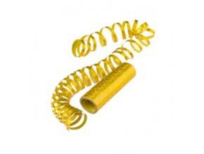 Serpentýny holografické - zlaté