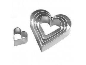 Vykrajovačky nerez OR149 - srdce