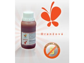Airbrush jedlá barva 45ml - oranžová