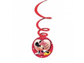 Závěsná dekorace Minnie Mouse - sada 3 ks