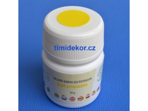 Gelová barva Aroco 50g - citronová žlutá