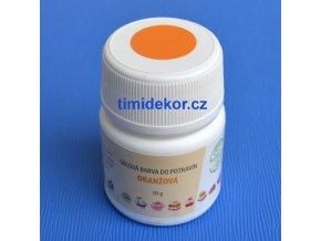 Gelová barva Aroco 50g - oranžová